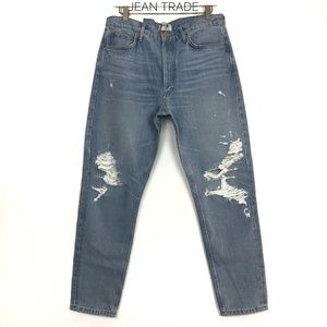 NWT AGOLDE Jamie High Rise Classic Jeans